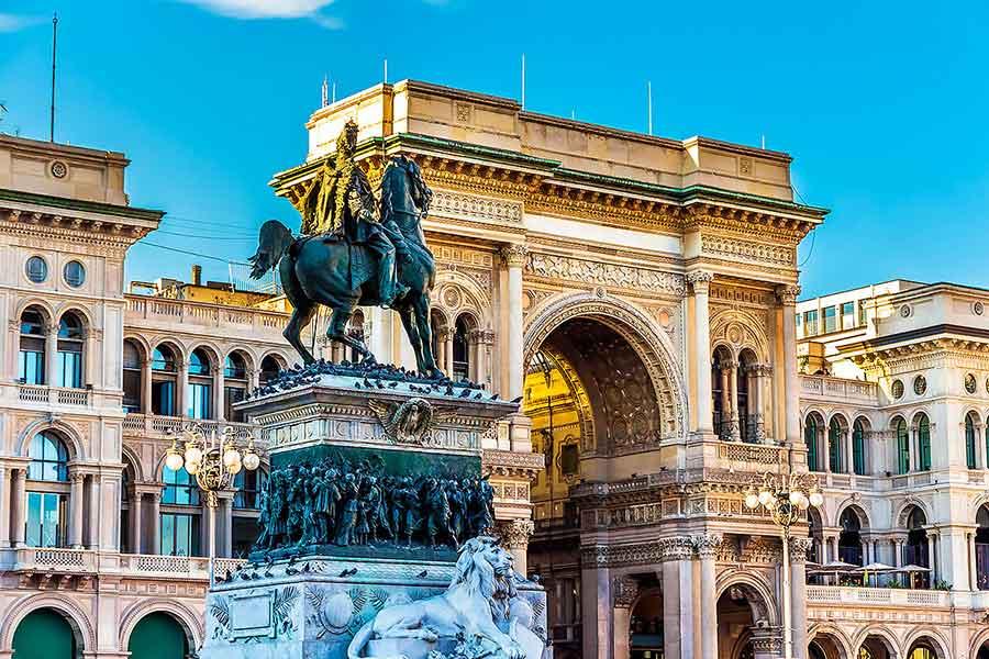 Galleria Vittoria Emanuele II Außen