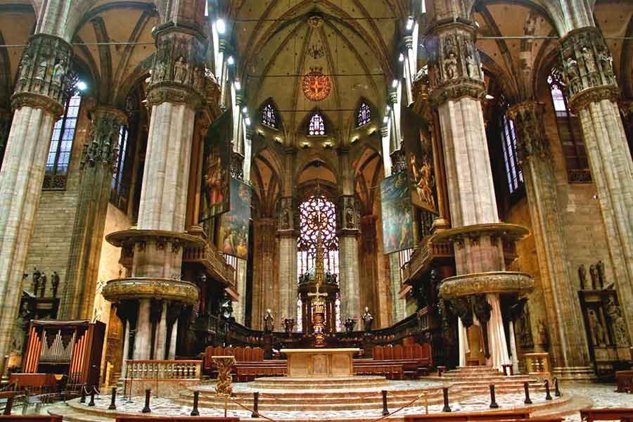 Mailand Dom innen