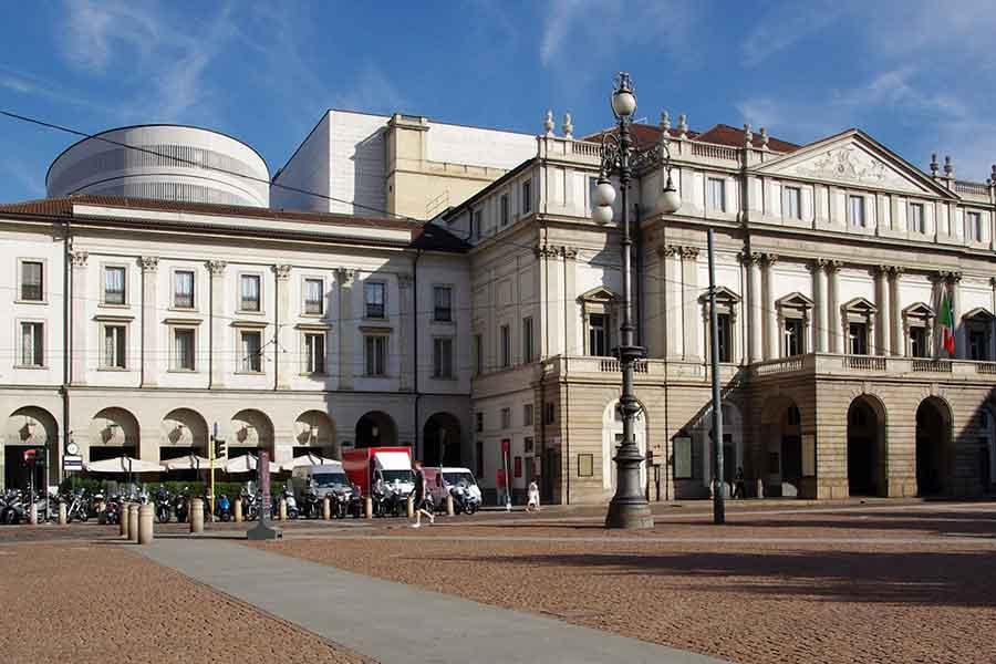 Teatro La Scala Mailand Außen