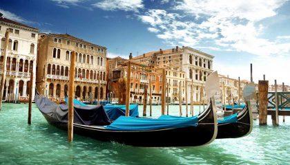 Venedig und die Gondel