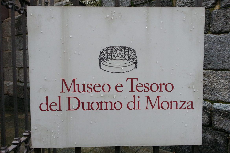 Dom von Monza Schild
