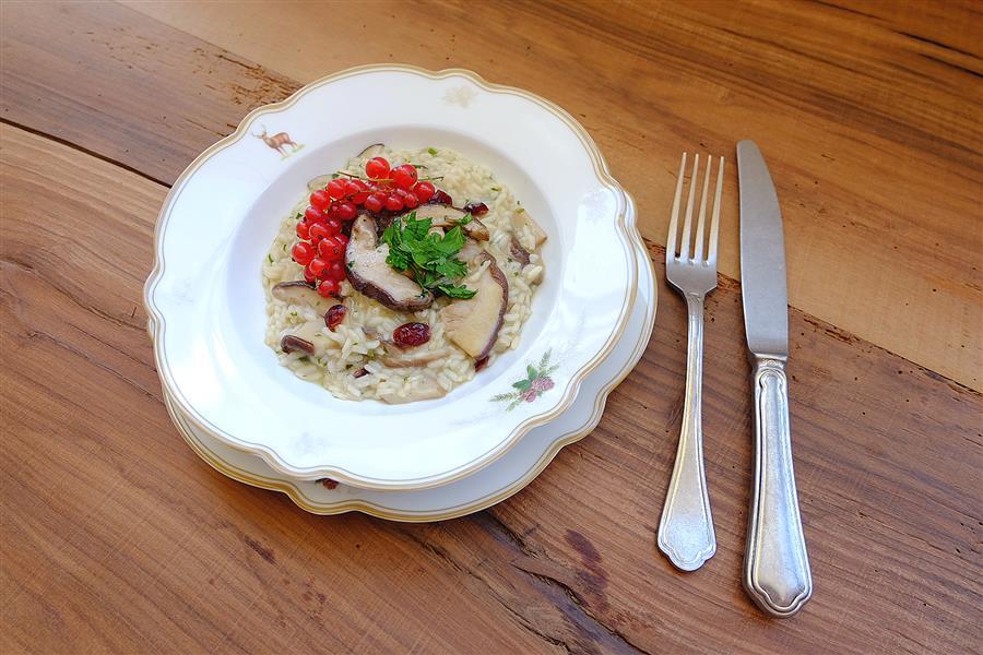 risotto-mit-pfifferlinge-porcini